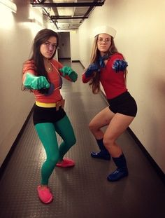 My friend and I are going as mermaid man and barnacle boy as Halloween so I need all the materials for it! Both mermaid man and barnacle boy