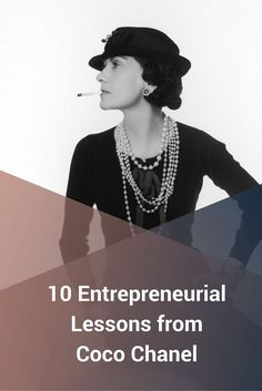 There is no denying the impact that Coco Chanel had on the fashion world. A true rags-to-riches story, Chanel's life left us with some POWERFUL entrepreneurial lessons. http://www.eazl.co