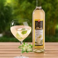 Drink made with elder tree flowers syrup,mint,prosecco Prosecco, White Wine, Alcoholic Drinks, Food And Drink, Herbs, Glass, Recipes, Syrup, Flowers