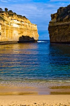 Loch Ard Lagoon, Port Campbell National Park, Great Ocean Road, Victoria, Australia