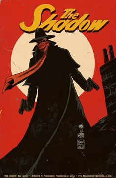 The Shadow - Francesco Francavilla