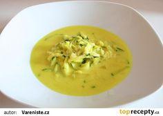 Cuketová polévka s kokosovým mlékem recept - TopRecepty.cz