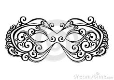 Masquerade Mask by Iryna Kryvoruchko, via Dreamstime