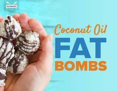 coconut oil fat bomb