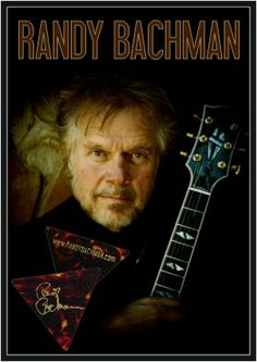 TAKING CARE OF BUSINESS! RANDY BACHMAN - founding member of The Guess Who and BTO (Bachman Turner Overdrive) Custom Guitar Picks and Band Merch items by EGOpicks.com