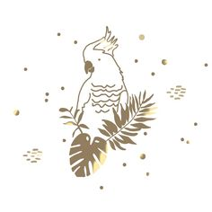 Sticker - Golden Parrot