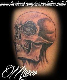tattoo, tatuagem,  skull, caveira