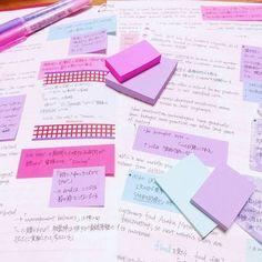 ちまたでは文房具ブームですが、付箋もそんな人気文房具の一つ!いろいろなデザインの付箋を工夫して使う付箋ノートは、勉強が分かりやすくなって後からの編集もOK!誰にでもできる♡かわいい付箋ノートについてご紹介します♪