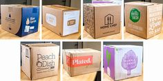 Best Meal Delivery, Meal Delivery Service, Food Packaging, Packaging Design, Chinese New Year Design, Artist Logo, Corrugated Box, Carton Box, Love Eat