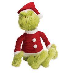 Manhattan Toy Dr. Seuss The Grinch in Santa Suit Soft Toy... https://www.amazon.com/dp/B00E0JNMJS/ref=cm_sw_r_pi_dp_CiAyxbR3713BH