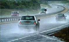 Five Steps to Driving in Blinding Rain