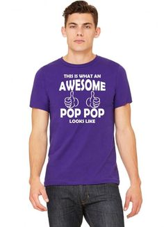 this is what an awesome pop pop looks like 1 copy Tshirt
