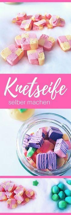 DIY Geschenkidee für Weihnachten: Knetseife selber machen: DIY Anleitung für Waschknete