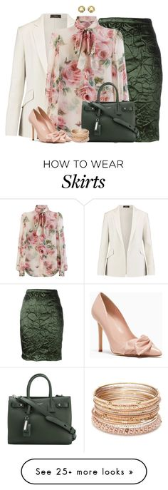 """""""Working Girl #89"""" by angelysty on Polyvore featuring Nina Ricci, Theory, Dolce&Gabbana, Yves Saint Laurent, Red Camel and Ciner"""