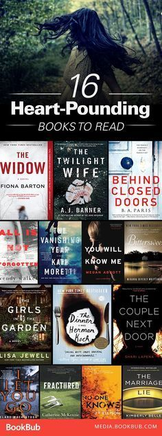 These heart-pounding books are perfect for getting that blood flowing. Filled with mysteries and thrillers; great for fans of Big Little Lies by Liane Moriarty.