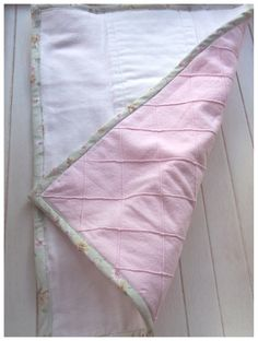 burpie rags...i like the bias tape on this one (flannel plus cloth diaper)