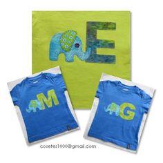 Camisetes elefant - Elephant - T-shirt - Applique