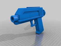 DC17 Animated Clone Trooper Blaster Prop from Star Wars the Clone wars.  Use by Republic clones such as Captain Rex.
