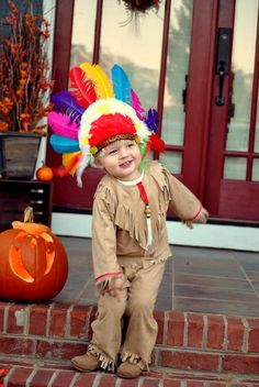 Native American Indian Boy's  children's costume by MainstreetX, $42.00