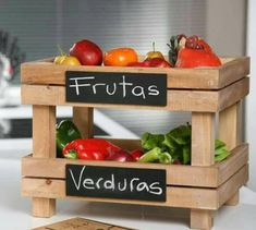 17 Excellent Kitchen Storage Ideas Made With Recycling Old Crates