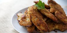 Making this for dinner tonight!! Baked Chicken Tenders by keep your diet real