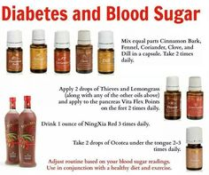 Young Living Essential Oils: Diabetes