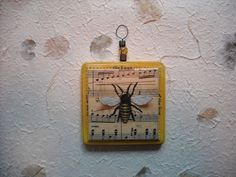 music to my ears original bee art for interior use by petitpiaf, $17.00