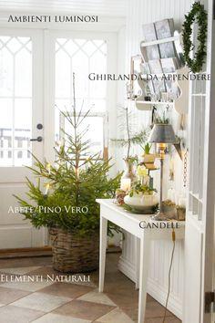 Cinque elementi per un Natale in stile Nordico.