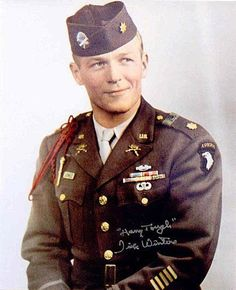 Major Richard Winters, Easy Company, at the end of the war