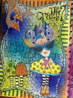 Saylor VanBergen on THE DYAN REAVELEY ART JOURNALING Gateway FB Group.
