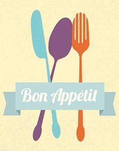 """Canvas Edition: Bon Appetit"" - Kitchen posters and prints available at Barewalls.com"
