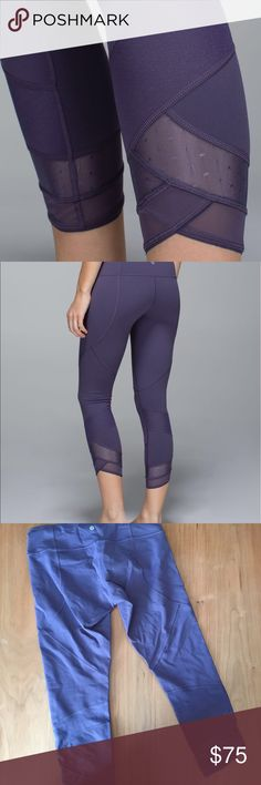 Lululemon Emerge Renewed Crop Full On Luon This crop is in excellent condition! Size 10. Smoke and pet free home. No trades. No flaws like stains or piling. Offers welcome! lululemon athletica Pants Leggings