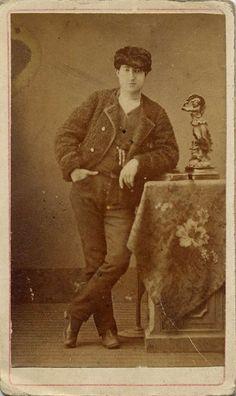 Blasco, E.: retrato de señorito, CDV 1870.  Hesperus´ Collection