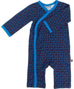 Froy & Dind gorgeous dark blue playsuit with asian print. froy-en-dind.en.emilea.be