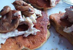 Mushroom Protein Patties with Chicken - Protein Pow