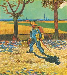 The Painter on the Road to Tarascon, 1888. Van Gogh Museum