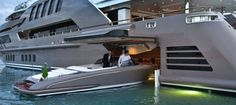 The Perfect Combo: Top Five Superyacht Garages