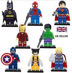 #Marvel dc mini#figures #avengers super hero batman iron man mini #figures fit leg,  View more on the LINK: http://www.zeppy.io/product/gb/2/331905068276/