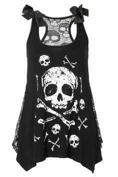 Not usually a fan of skulls and crossbones but this is actually pretty cute~!