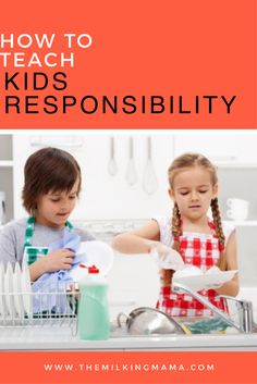How do we teach our children to be responsible? That's a tough question. Head over to the blog and take a peek at my tips to teach kids responsibility.
