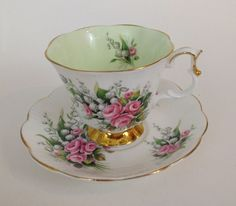 Vintage Royal Albert English Bone China Lily of the Valley Tea Cup & Saucer  #RoyalAlbert