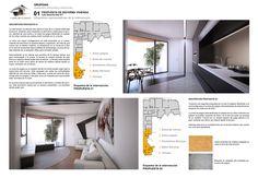 Propuesta 02: Se trata de una propueta donde diseñamos un espacio de juegos y una cocina de diseño. Architectural Firm, Proposal, Flats, Space, Yurts, Games, Cooking, Interiors