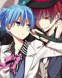 Assassination classroom- Karma and Nagisa Mafia