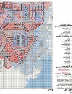 Schema punto croce Antique Charm 03