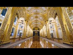 The Kremlin Russia. Peterhof Palace, Saint A, Hermitage Museum, Imperial Russia, Luxury Living, Moscow, Art Gallery, City, Building