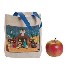 Nativity Tote Bags - OrientalTrading.com
