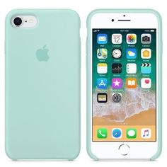 Apple iPhone 8 / 7 Silicone Case - Marine Green iPhone, Cases for iPhone, Wallpaper for iPhone Cute Iphone 7 Cases, Silicone Iphone Cases, Iphone Phone Cases, Coque Ipad, Coque Iphone 6, Apple Iphone 6, Apple Ipad, Apple Case, Telephone Iphone 7