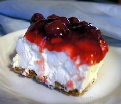 Cherry Cha Cha Dessert Recipe: If you like fluffy and sweet, you'll love this no-bake dessert.