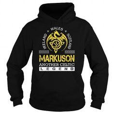 Cool MARKUSON Legend - MARKUSON Last Name, Surname T-Shirt Shirts & Tees