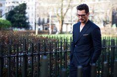 David Gandy - mens street style in London